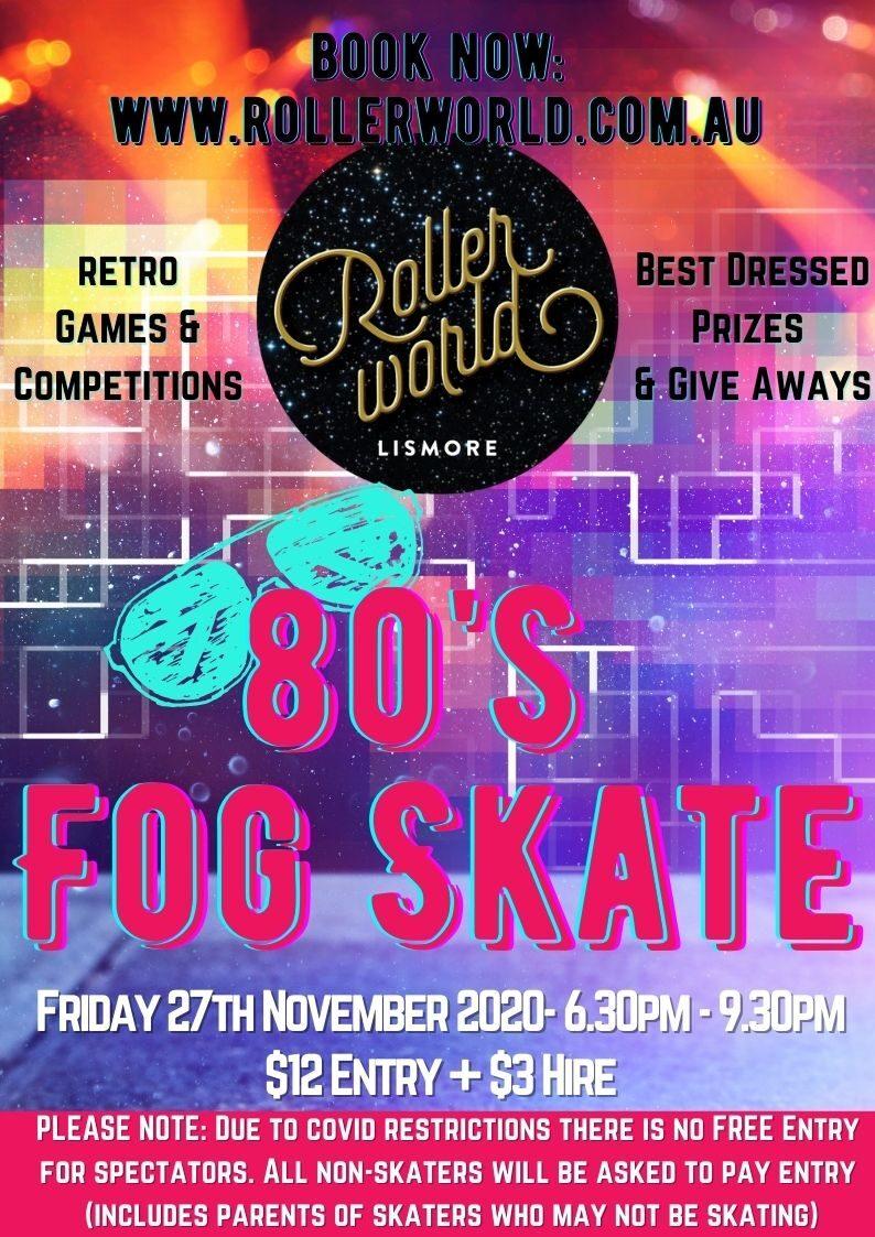 Rollerworld_ 80s fog skate